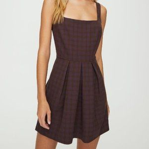 Aritzia SUNDAY BEST Tasha Check Dress